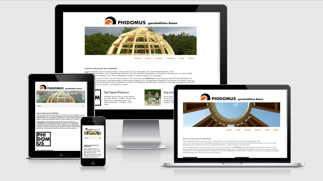 Website phidomus.de