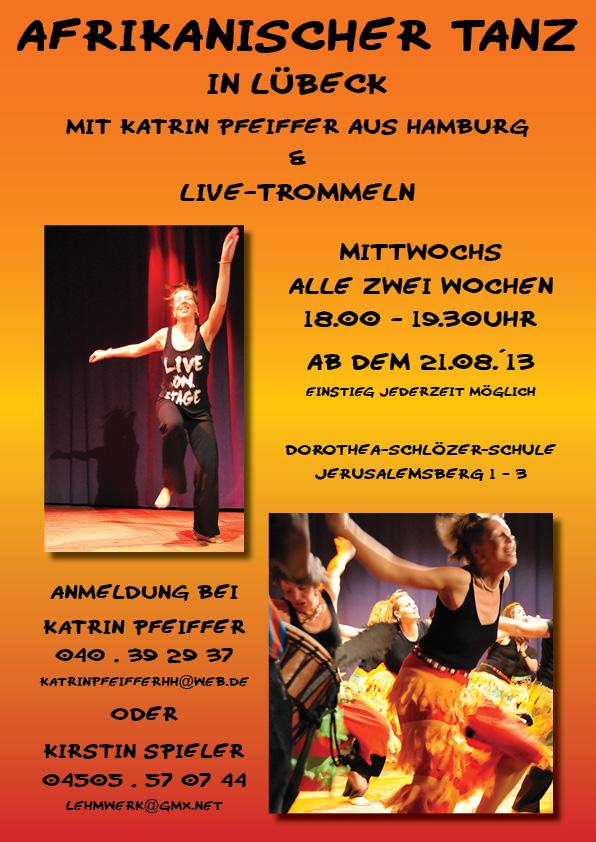 Afrikanisches Tanzfest